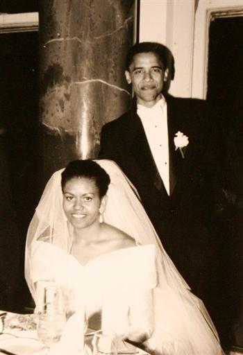 奥巴马与妻子米歇尔--专题