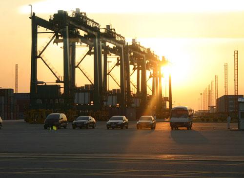 广州南沙海港集装箱码头