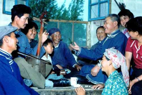 蒙古民歌嘎达梅林谱子