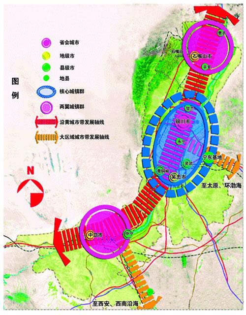 【黄河金岸】宁夏黄河金岸规划建设图(图片) - 莫家楼人 - 莫家楼人