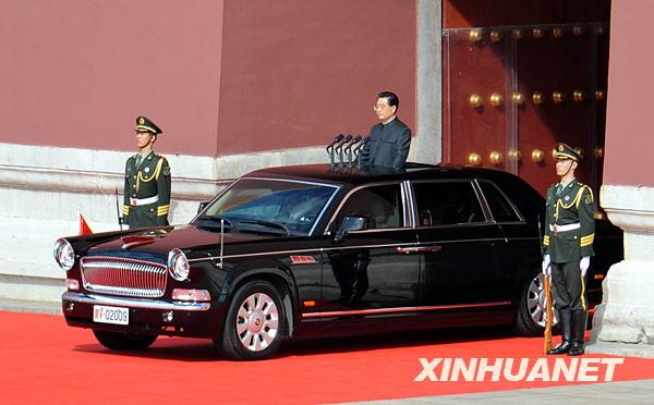 国家红旗车_红旗车就是中国国家领导人接待外宾的