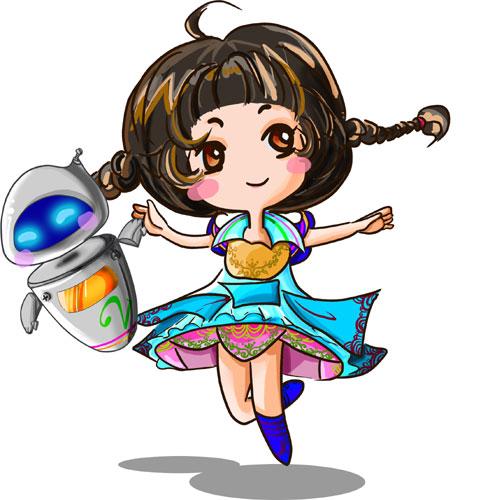 内蒙古第二届动漫展吉祥物新鲜出炉