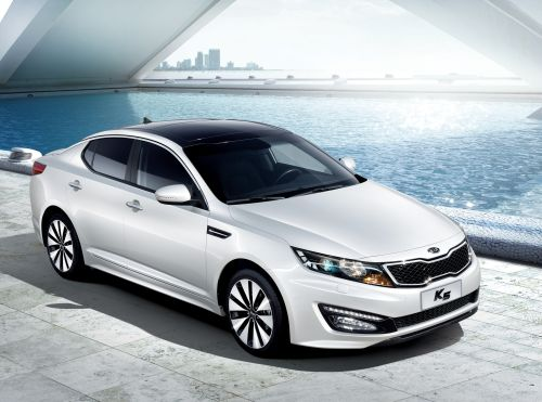 """东风悦达起亚最新中高级车型""""K5""""将于3月10日在上海正式上市,预"""