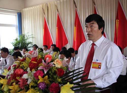旗委书记王玉树同志做工作报告