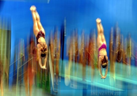 大运跳水比赛精彩瞬间