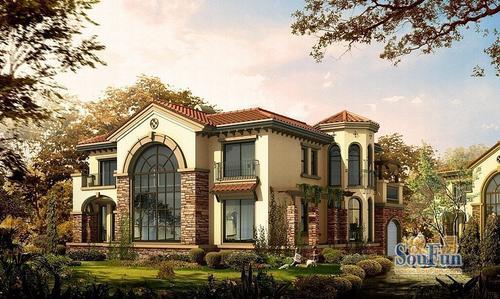 二:亿利傲东国际动态:亿利傲东国际叠拼别墅现房在售,户型面积220
