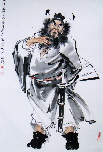 钟馗/悬钟馗像:钟馗捉鬼,是端午节习俗...