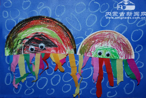 同时也希望用儿童的绘画视角去触动成人的环保意识