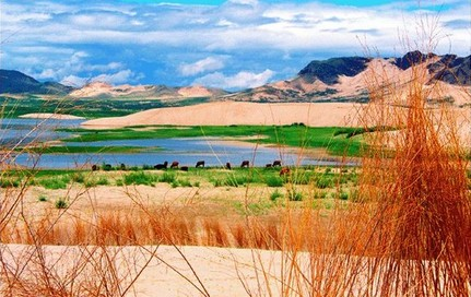 玉龙沙湖旅游区 - - 内蒙古新闻网 - 旅游频道