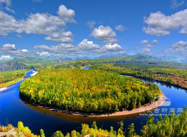 莫尔道嘎国家森林公园景点之一:白鹿岛 (张焕瑞摄)