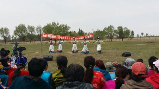 苏木镇的民间艺人踊跃参加