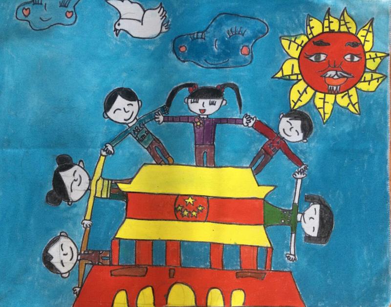 我爱祖国天安门-内蒙古文明网-内蒙古新闻网
