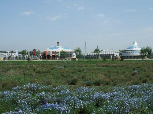 蒙古风情园草原