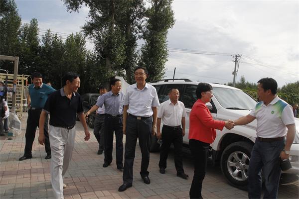 盟政协副主席杜吉雅,副秘书长王玉林