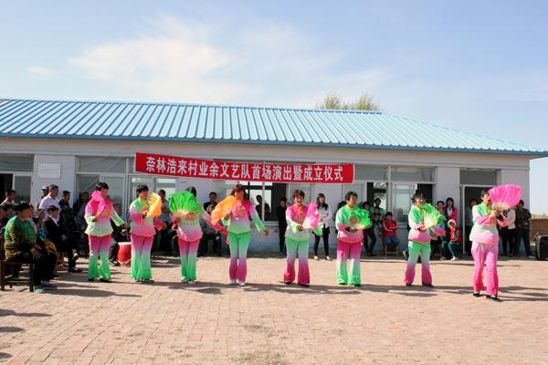 丰富广大农民群众的文化生活,近年来,奈曼旗白音他拉苏木积极培育和