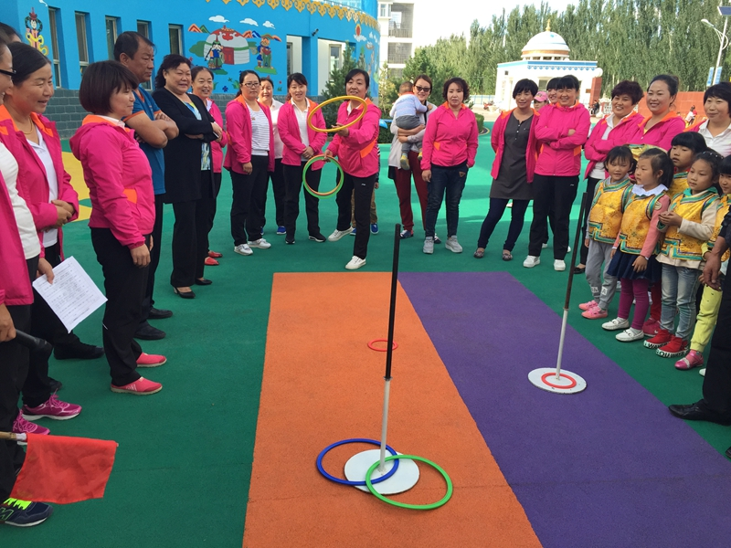 乌后旗民族幼儿园举行教师节趣味运动会-内蒙古文明