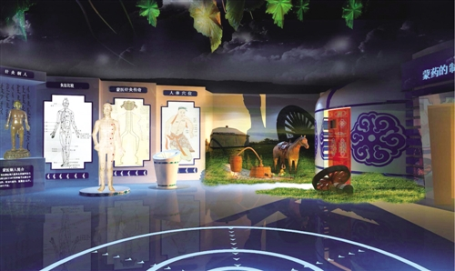 内蒙古科技馆常设展览按主题,分主题展开方式分为8大展厅,即:儿童