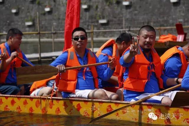 受邀参加在西安国家水利风景区长安码头举办的首届灞河竟渡赛艇国际