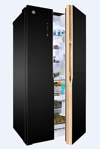 """冰箱凭借着独树一帜的设计和高端精细的科技,荣获拥有中国工业设计""""奥"""
