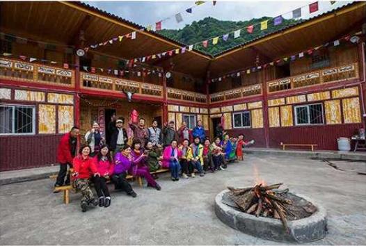 平武白马王郎风景区(祥述家寨)旅游接待-藏家迎宾楼