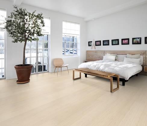 得高karelia三层实木地板拼花系列装修效果美图