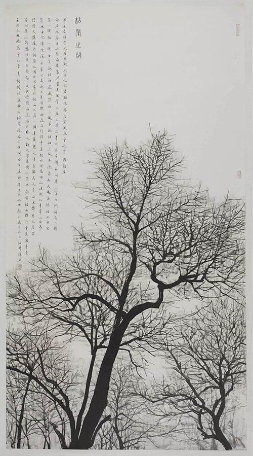 草木有枯荣,人有悲欢.冬日之树尽显枯容,在寒风和冰雪之中,内蕴