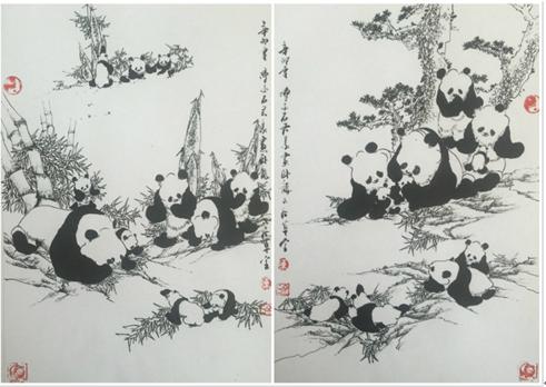 人类当今历史舞台上的一只最具人气且最具影响力的最可爱的大熊猫宝贝