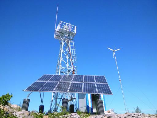 乌兰浩特市新增一处森林防火野外火源监测塔