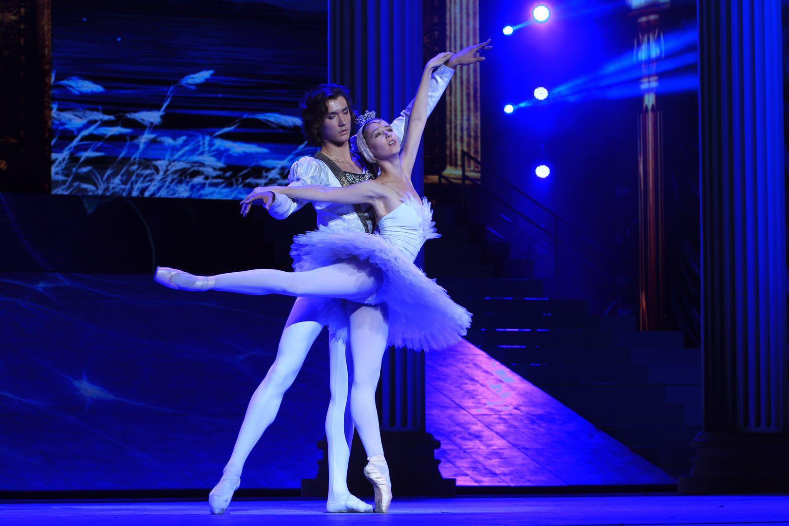 小提琴与芭蕾舞《天鹅湖》