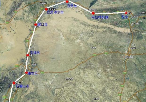 内蒙古新闻网 新闻中心 要闻 乌海新闻    那么,包银高铁内蒙古段建设