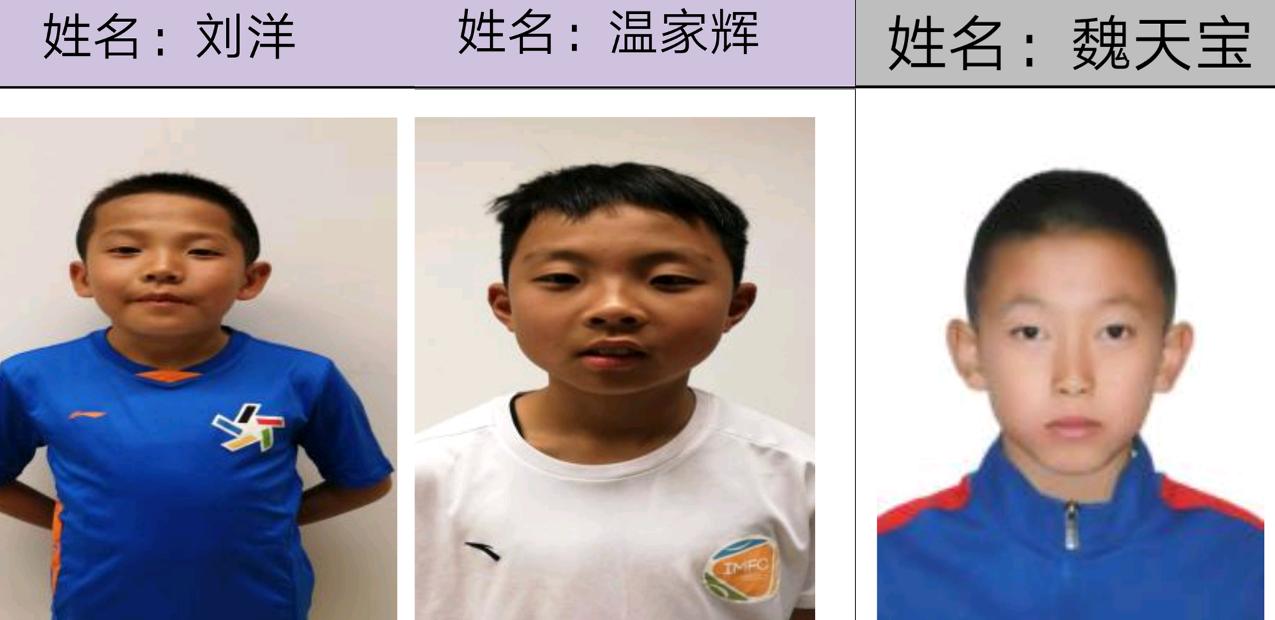 内蒙古3名足球小将入选U12国少集训队