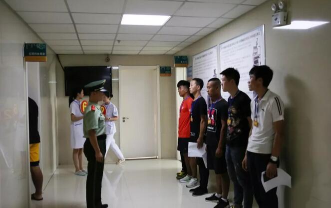 科右中旗征兵工作进入体检阶段
