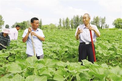 朱广宇:带领村民脱贫致富