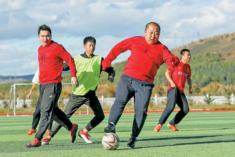边陲小城的快乐足球