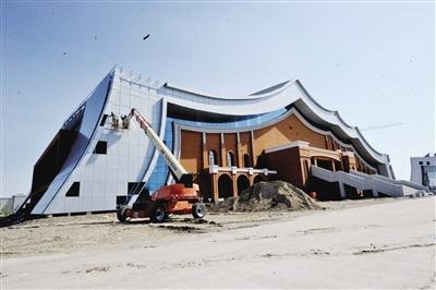 海拉尔区重点项目建设快马加鞭