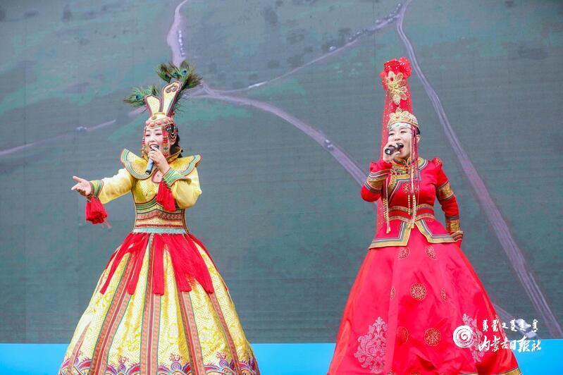 乌兰牧骑空降北京欢乐谷,带你畅游亮丽内蒙古!