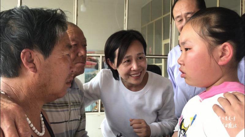"""《辛运快三官网》_关爱留守儿童""""爱的共振腔""""活动走进和林格尔"""