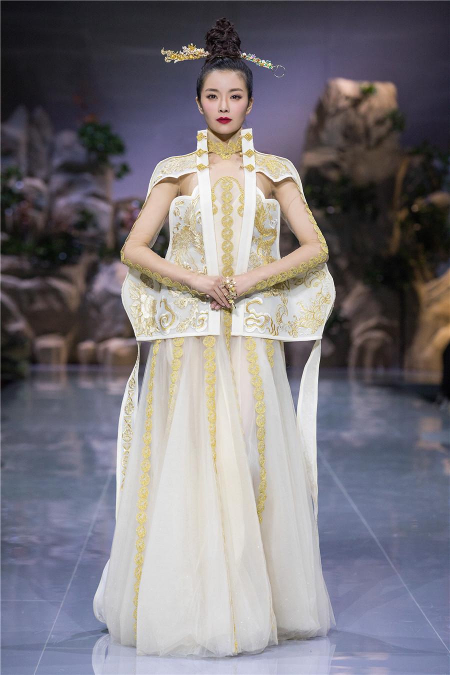 天玺时装周秀穿在身上的中国文化