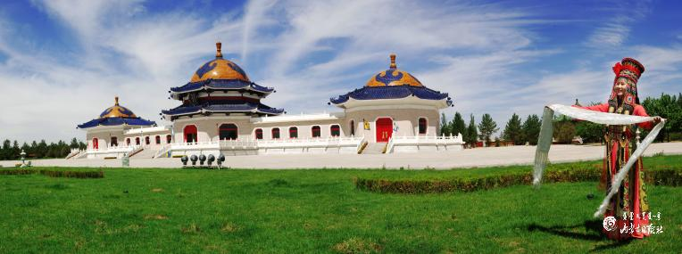 每日一景   成吉思汗陵旅游区