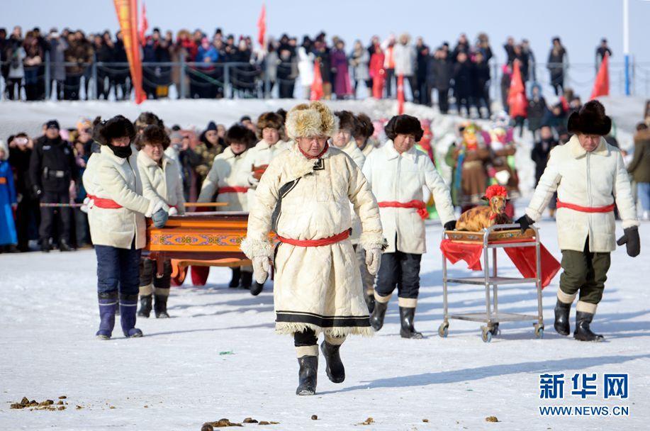 渔猎文化炫彩冬日