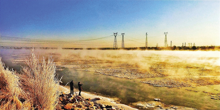 黄河,波澜凝固的模样