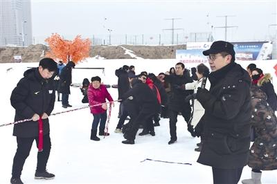 呼和浩特市残疾人冰雪月活动启动