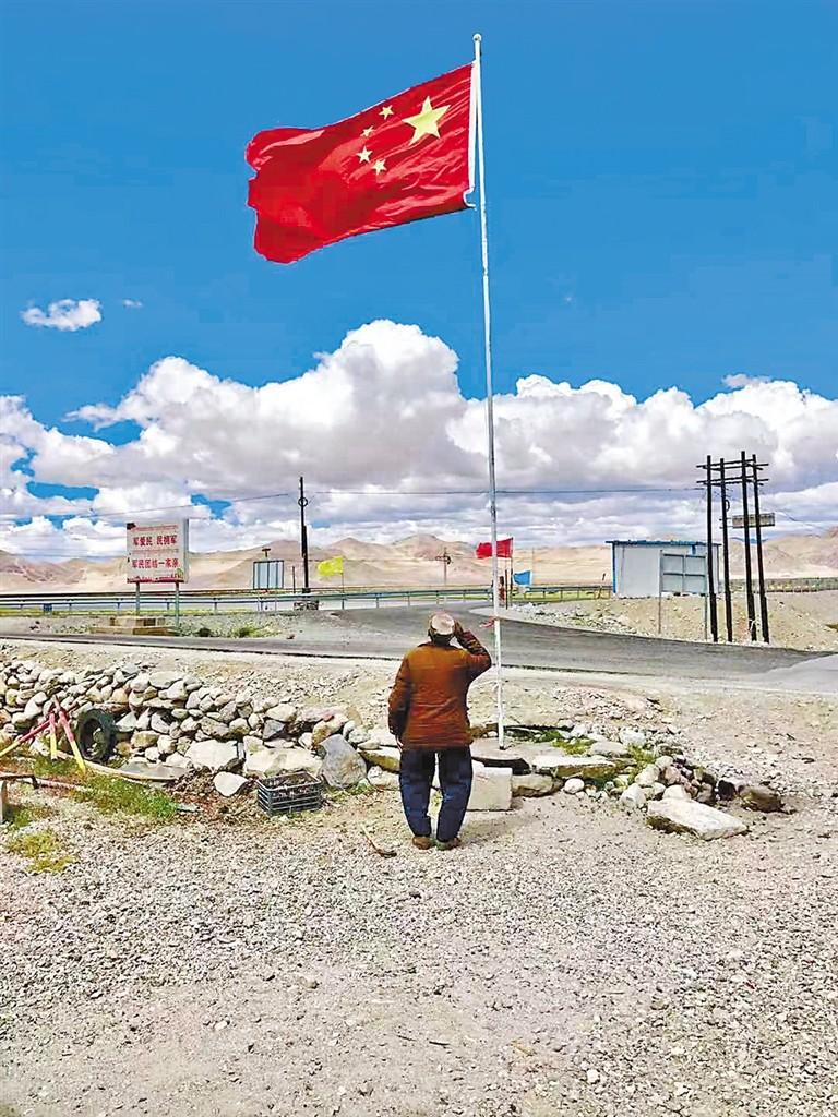 【新春走基层】噶尔县白玛吾金:一座桥一个人,三十八年的守护