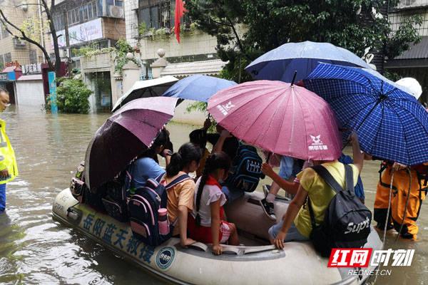 《【恒达平台注册网址】岳阳:把两新党建旗帜插在防洪救灾一线》